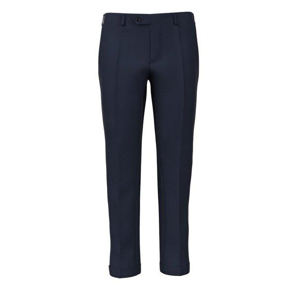 Pantaloni Blu Oxford Tessuto prodotto da  Drago