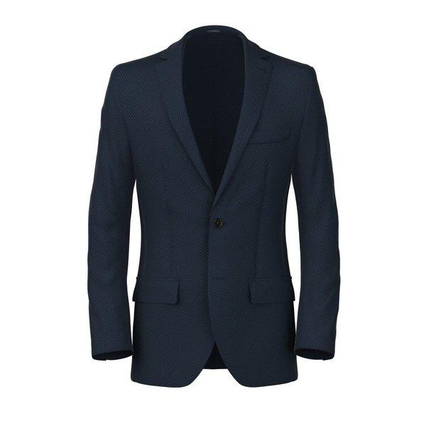 Blazer Blau Mikro Design Produzent  Piacenza