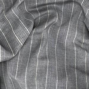 Giacca Natural Stretch Grigia Gessata Tessuto prodotto da  Reda