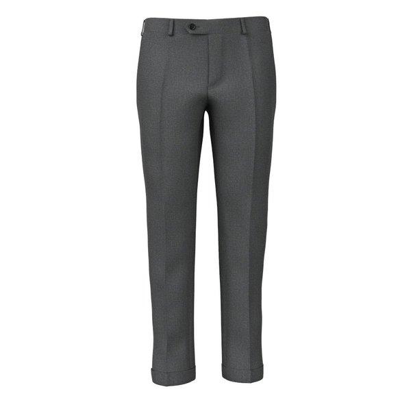 Pantaloni Grigi Flanella Microdesign Tessuto prodotto da  Reda