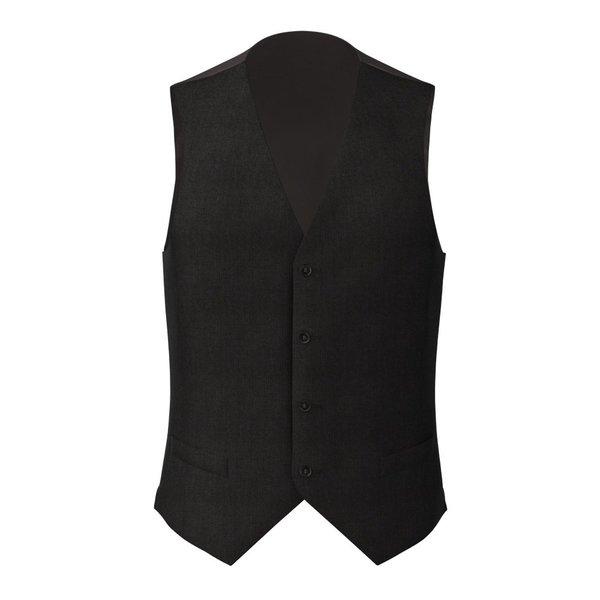 Gilet Noir Authentique Tissu fabriqué par  Reda