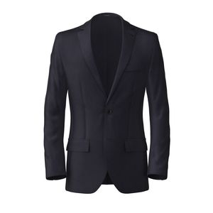Traveller Dark Blue Blazer Fabric produced by  Tallia Delfino