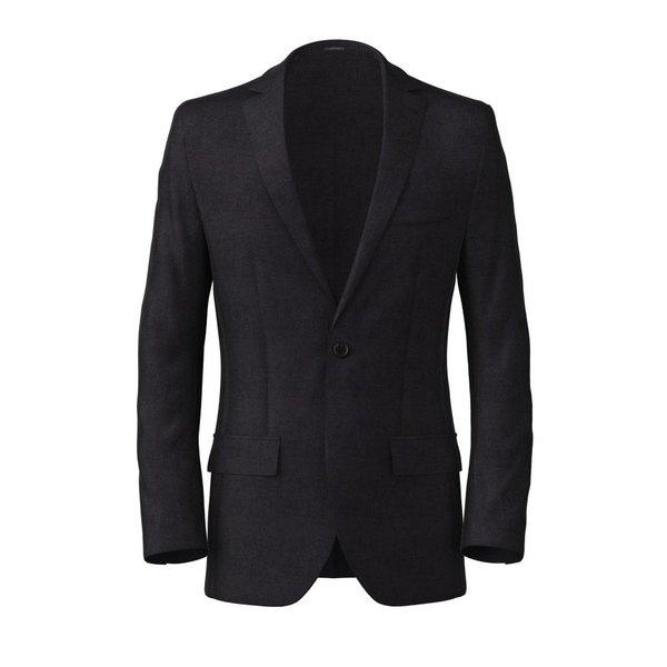 Denim Blue Cotton Blazer Fabric produced by  Tessuti di Sondrio