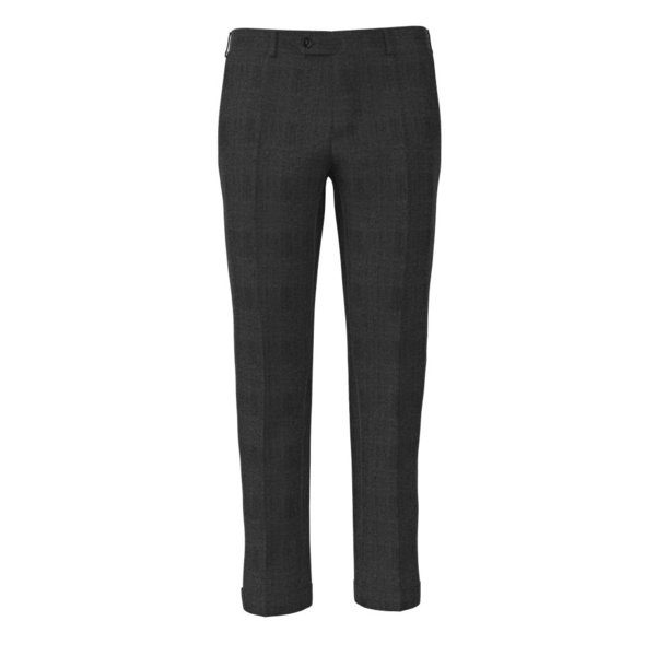 Icon Grey Prince of Wales Trousers Fabric produced by  Vitale Barberis Canonico