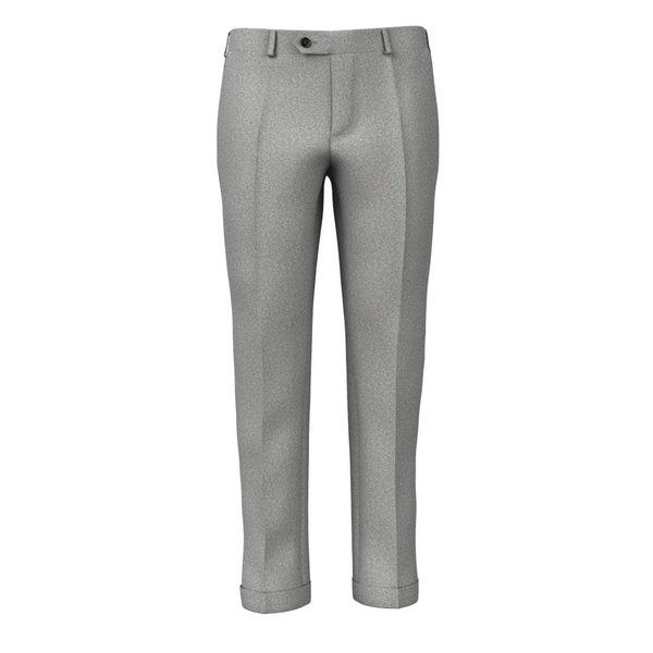 Grey Flannel Trousers Fabric produced by  Vitale Barberis Canonico