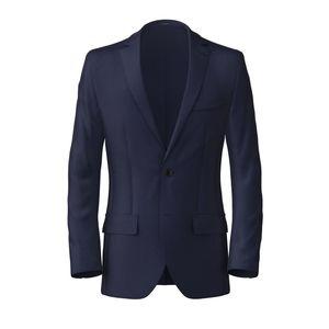 Blazer Blu Cobalto Tessuto prodotto da  Lanificio Ermenegildo Zegna