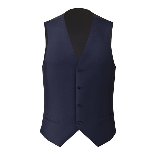 Cobalt Blue Waistcoat Fabric produced by  Lanificio Ermenegildo Zegna