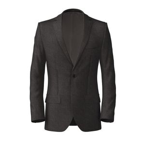 Grey Birdseye Jacket Fabric produced by  Reda
