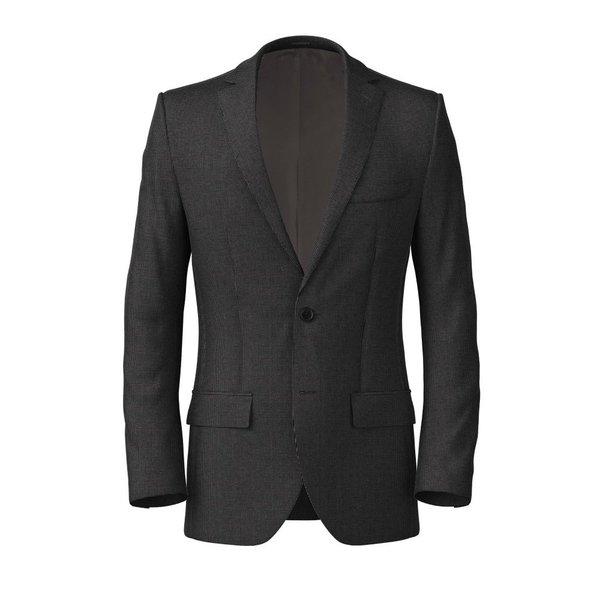 Blue Microdesign Cotton Jacket Fabric produced by  Lanificio Subalpino