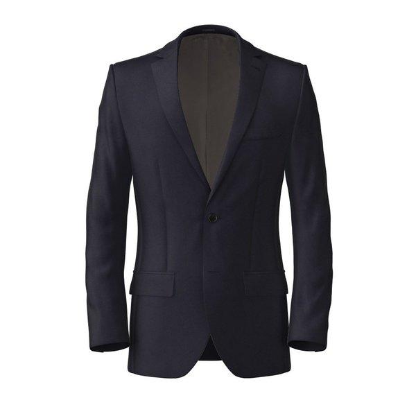 Traveller Dark Blue Jacket Fabric produced by  Tallia Delfino