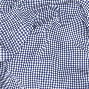 Camicia Quadri Blu Tessuto prodotto da  Canclini