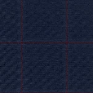 Giacca Atto Blu Finestrata Tessuto prodotto da  Lanificio Cerruti