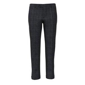 Pantaloni Grigi Macro Rigati Tessuto prodotto da  Lanificio Cerruti