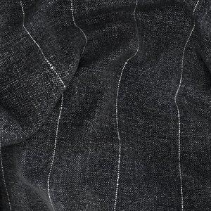 Giacca Grigia Macro Rigata Tessuto prodotto da  Lanificio Cerruti
