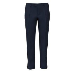 Pantalon Assoluto Biella Bleu Tissu fabriqué par  Carlo Barbera