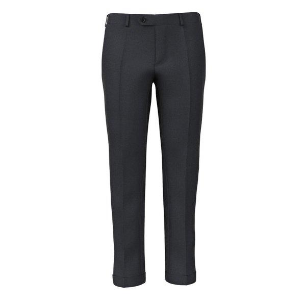 Pantaloni 160's Grigi Principe di Galles Tessuto prodotto da  Drago