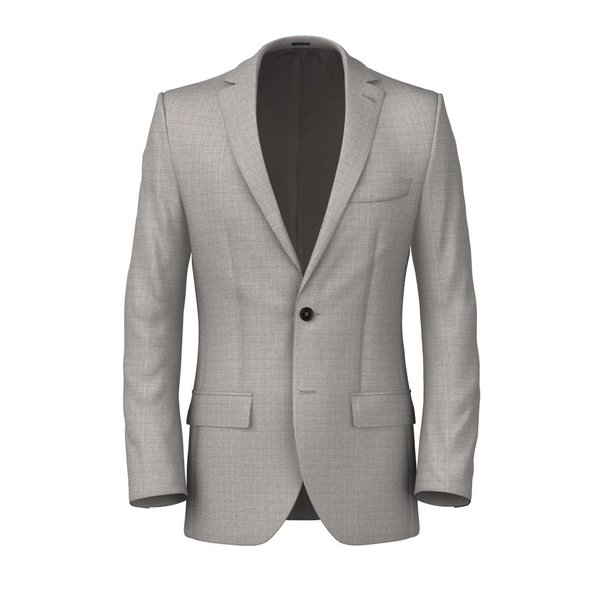 Wool Mohair Grey Jacket Fabric produced by  Drago