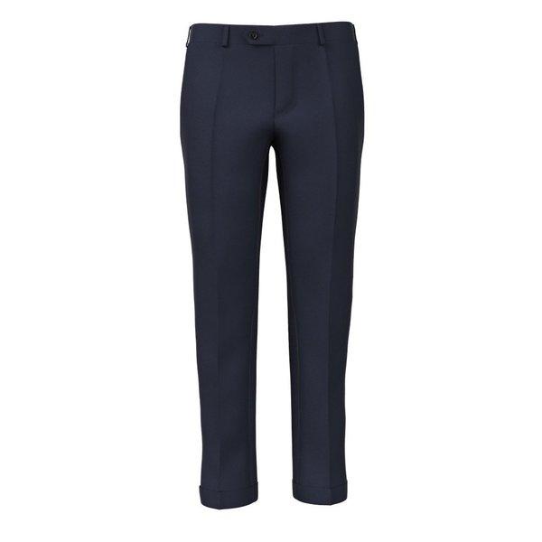 Pantaloni Super 180's Blu Tessuto prodotto da  Drago