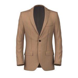 Riviera Khaki Jacket Fabric produced by  Drago
