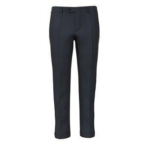Pantalon Bleu Prince de Galles Flanelle Tissu fabriqué par  Drago