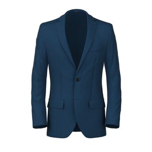 Blazer Blu Elettrico Tessuto prodotto da  Drago