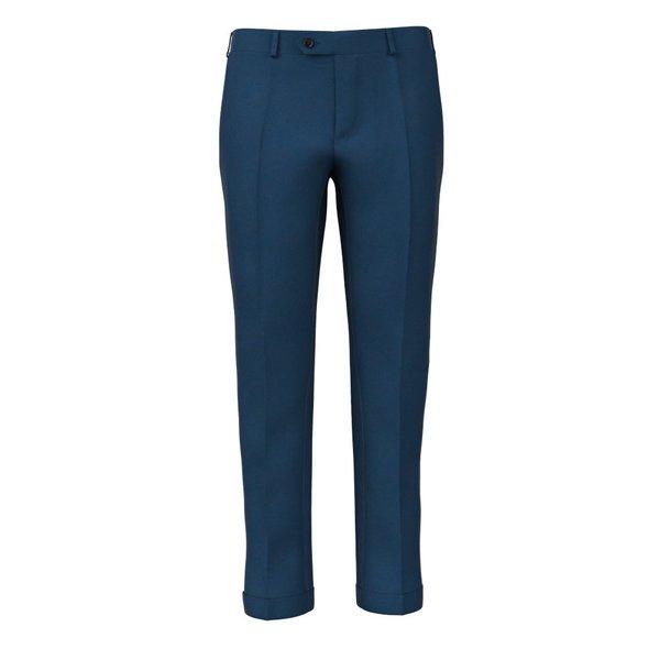 Pantalon Bleu Éléctrique Tissu fabriqué par  Drago
