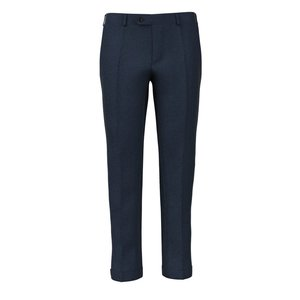 Pantalon Bleu Milan Flanelle Tissu fabriqué par  Drago