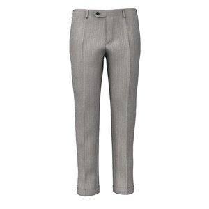 Pantaloni Super 180's Pietra Spigati Tessuto prodotto da  Drago