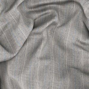 Gilet Super 180's Pietra Spigato Tessuto prodotto da  Drago