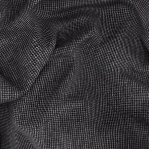 Grey Pied de Poule Jacket Fabric produced by  Drago