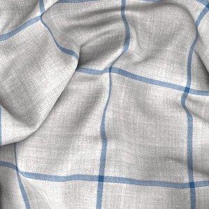 Blazer Grigio Finestrato Tessuto prodotto da  Drago