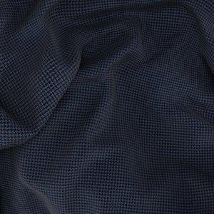 Abito Blu Pied de Poule Tessuto prodotto da  Drago