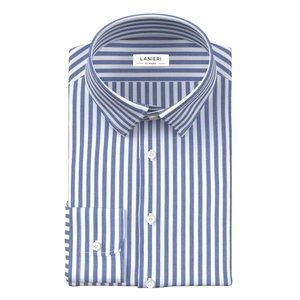 Camicia Righe Blu Zephyr Tessuto prodotto da  Ibieffe