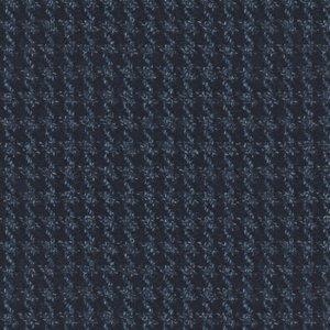 Blazer Blu Macro Pied de Poule Tessuto prodotto da  Loro Piana