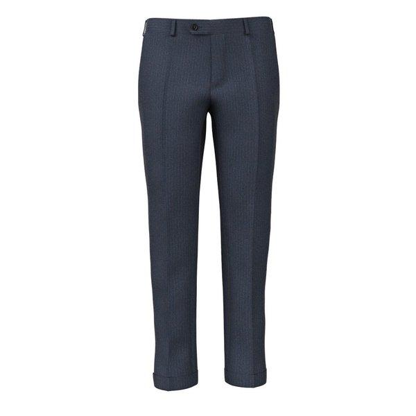 Pantaloni Avio Gessati Tessuto prodotto da  Loro Piana