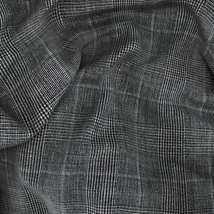 Blazer Antracite Principe di Galles Tessuto prodotto da  Loro Piana