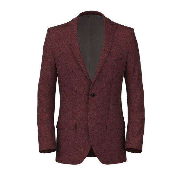 Giacca Rossa Cashmere Tessuto prodotto da  Loro Piana
