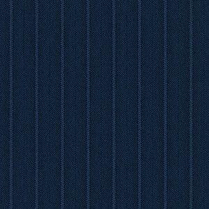 Blazer Blu Effetto Rigato Tessuto prodotto da  Loro Piana