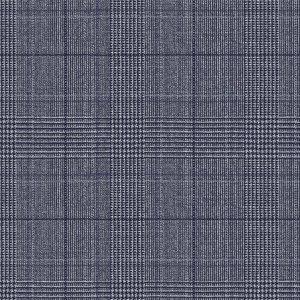 Giacca Natural Stretch Blu Principe di Galles Tessuto prodotto da  Reda