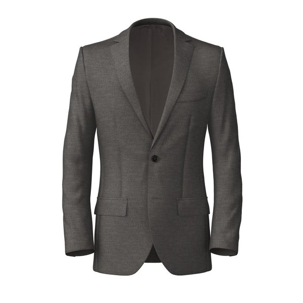 Icon Light Grey Jacket Fabric produced by  Reda