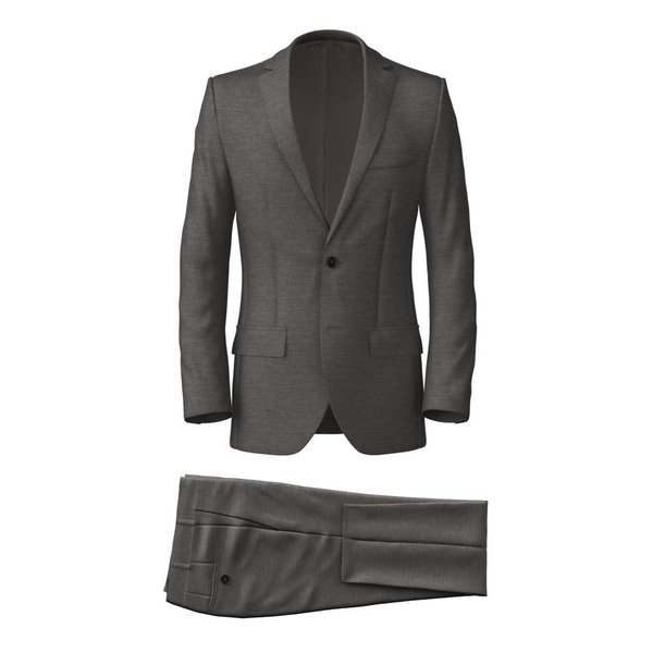Icon Light Grey Suit Fabric produced by  Reda