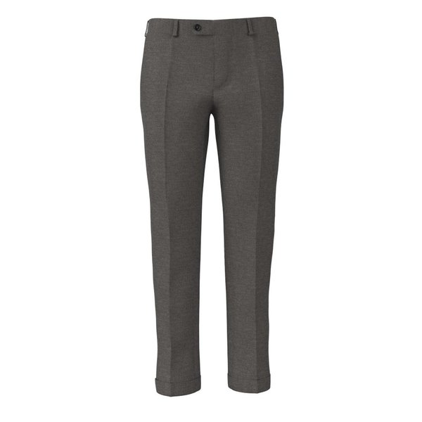 Icon Light Grey Trousers Fabric produced by  Reda