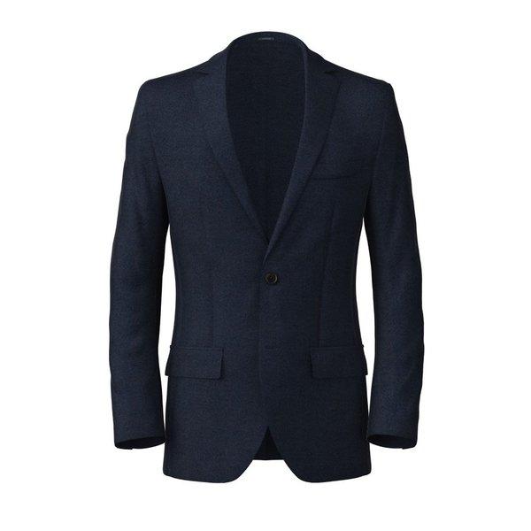 Blazer Blu Levante Tessuto prodotto da  Reda