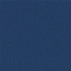 Pantaloni Azzurri Pied de Poule Tessuto prodotto da  Reda