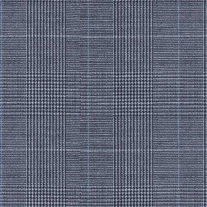 Gilet Azzurro Pricipe di Galles Tessuto prodotto da  Reda