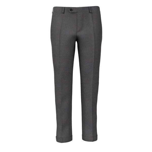 Pantaloni Grigio Chiaro Pied de Poule Tessuto prodotto da  Reda