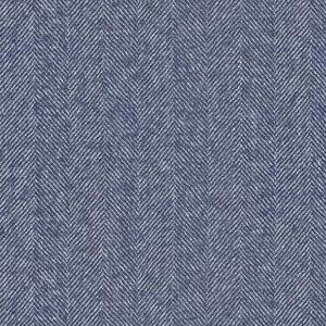 Giacca Blu Notte Spigata Tessuto prodotto da  Reda