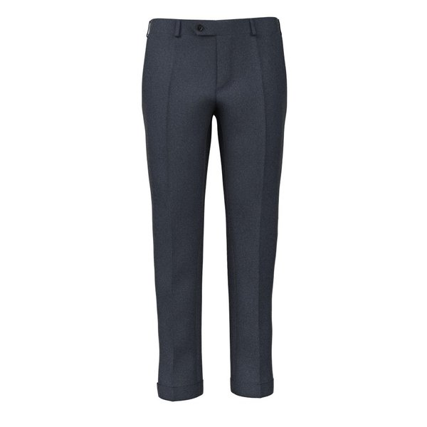 Pantaloni 150's Blu Grisaglia Tessuto prodotto da  Reda