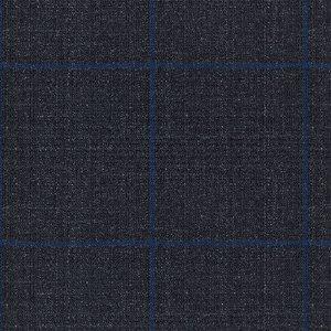 Gilet Traveller Blu Finestrato Tessuto prodotto da  Reda