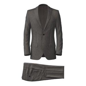 Traveller Grey Suit Fabric produced by  Tallia di Delfino